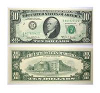 1969-B. $10. CCU. Federal Reserve Note.