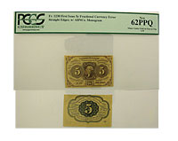 First. Issue. PCGS. New-62. PPQ. F-1230.