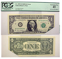 1969-D. $1. PCGS. XF-45. Federal Reserve Note.